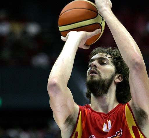Pau Gasol do'...one of da nastiest neck beards in da leeg!